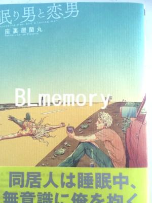 BLコミック 眠り男と恋男 座裏屋蘭丸 BLメモリー
